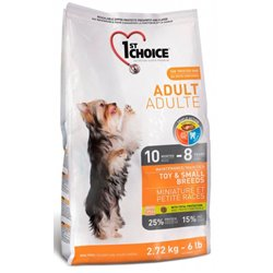 1st Choice Dog Adult Toy & Small Breeds 2,72kg