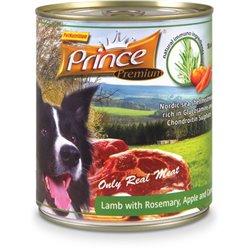 Prince Premium Jagnięcina Rozmaryn Jabłka 800g