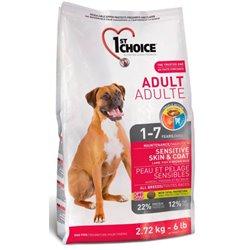 1st Choice Dog Adult Sensitive Skin & Coat 350g