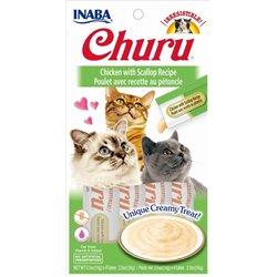 Churu Chicken with Scallop – kremowy przysmak dla kota, kurczak i przegrzebki