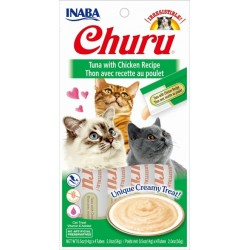 Churu Tuna with Chicken Recipe – kremowy przysmak dla kota, tuńczyk i kurczak