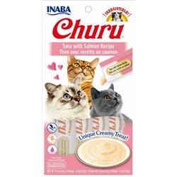 Churu Tuna with Salmon – kremowy przysmak dla kota , tuńczyk i łosoś