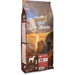 Prince Taste of Nature  karma sucha bez zbóż dla psów dorosłych i szczeniąt ras średnich i dużych z mięsa bizona 12 kg