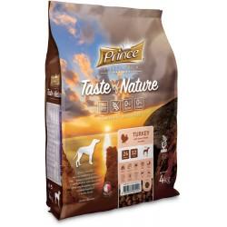 Prince Taste of Nature - karma sucha z mięsem indyka i batatami 4 kg