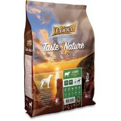 Prince Taste of Nature - karma sucha dla psów dorosłych i szczeniąt ras średnich i dużych z jagnięcina i batatami 12 kg