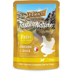 Prince Paleo Diet Saszetka Puppy Chicken Duck Kurczak Kaczka 375g