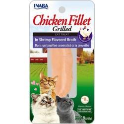 INABA Grilled Chicken -  grilowany Filet z Kurczaka w bulionie z krewetek 25gr