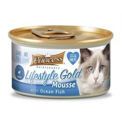 PRINCESS Life Gold Mousse Ryby Oceaniczne 85g