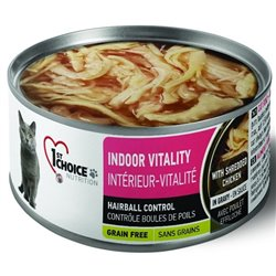 1st Choice Cat Indoor Vitality Kurczak 85g
