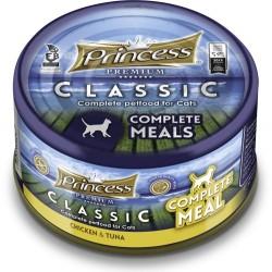 Princess Filety Complete Meal kurczak i tuńczyk  z tauryną 170g