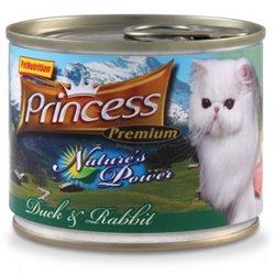 Princess Nature's Power Kaczka / Królik 200g