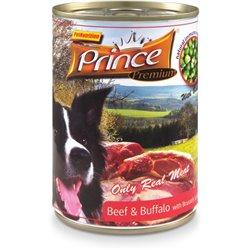Prince Premium Wołowina/Bizon/Szpinak/Pom 400 g