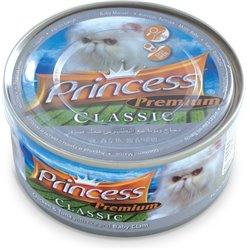 Princess Premium Tuńczyk Kurczak Małże baby 170gr